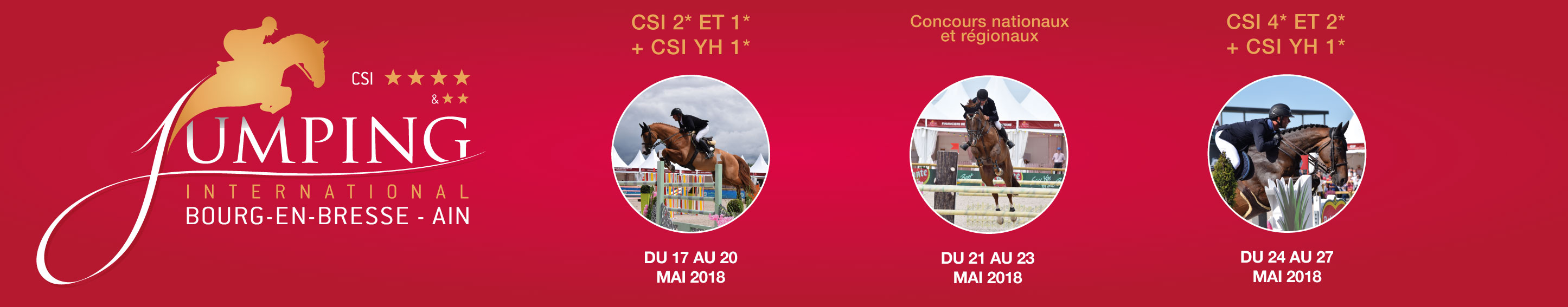 Jumping International de Bourg-en-Bresse 2018 / 17/05/2018 - 27/05/2018