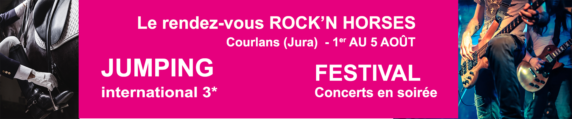 ROCK'N HORSES - COURLANS 3* 2018 / 01/08/2018 - 05/08/2018